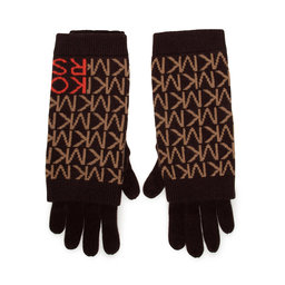 MICHAEL Michael Kors Жіночі рукавички MICHAEL Michael Kors MF1000H46G Chocolate