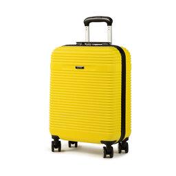 Ochnik Мала тверда валіза Ochnik WALAB-0040-19 Жовтий