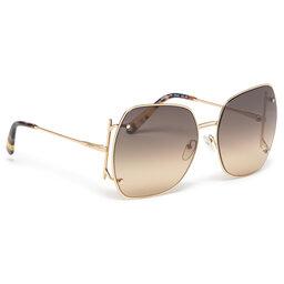 Salvatore Ferragamo Сонцезахисні окуляри Salvatore Ferragamo SF202S Gold/Brown 704