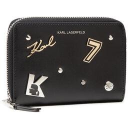 KARL LAGERFELD Великий жіночий гаманець KARL LAGERFELD 211W3223 Black 999