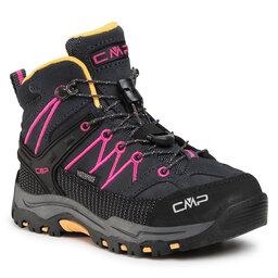 CMP Трекінгові черевики CMP Kids Rigel Mid Trekking Shoe Wp 3Q12944 Antracite/Bouganville 54UE
