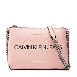 Calvin Klein Jeans Rankinė Calvin Klein Jeans Sculpted Camera Pouch W/Cha Mono K60K608688 Blossom