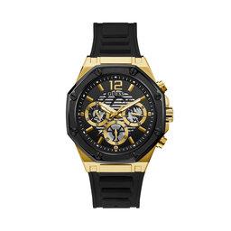Guess Годинник Guess Momentum GW0263G1 BLACK/GOLD