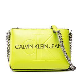 Calvin Klein Jeans Rankinė Calvin Klein Jeans Sculpted Camera Pouch W/Cha Mono K60K608688 GRN