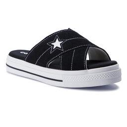 Converse Šlepetės Converse One Star Sandal Slip 564143C Black/Egret/White