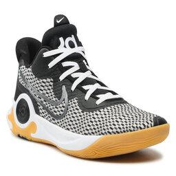 Nike Batai Nike Kd Trey 5 IX CW3400 006 Black/Mtlc Cool Grey/White