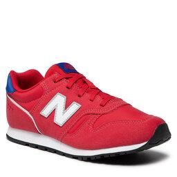 New Balance Laisvalaikio batai New Balance YC373WR2 Raudona