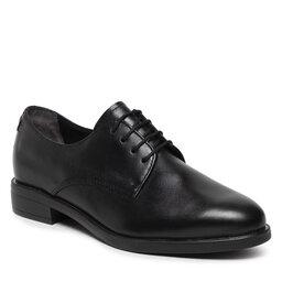 Tamaris Оксфорди Tamaris 1-23201-27 Black Leather 003