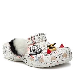 Crocs Шльопанці Crocs Classic Cruella II Clog 207402 White