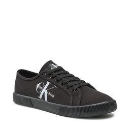 Calvin Klein Jeans Кросівки Calvin Klein Jeans Vulcanized Sneaker Laceup Co YM0YM00254 Full Black 0GV