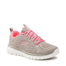 Skechers Взуття Skechers Get Connected 12615/GYCL Gray/Coral