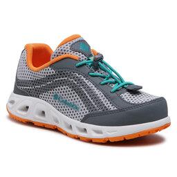 Columbia Трекінгові черевики Columbia Youth Drainmaker IV BY1091 Grey/Ice/Tropic Water