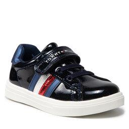 Tommy Hilfiger Laisvalaikio batai Tommy Hilfiger Low Cut Lace-Up T1A4-31149-1238 S Blue 800