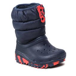 Crocs Снігоходи Crocs Classic Neo Puff Boot K 207275 Navy