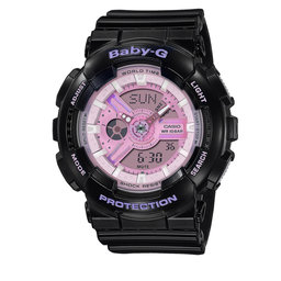 Baby-G Годинник Baby-G BA-110PL-1AER Black/Pink
