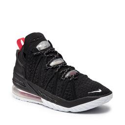 Nike Взуття Nike Lebron XVIII CQ9283 001 Black/White/University Red
