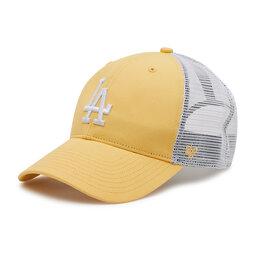 47 Brand Бейсболка 47 Brand Los Angeles Dodgers B-FLGSH12GWP-MZ Жовтий