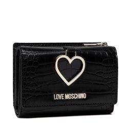 LOVE MOSCHINO Didelė Moteriška Piniginė LOVE MOSCHINO JC5685PP0DKF100A Nero
