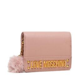 LOVE MOSCHINO Maža Moteriška Piniginė LOVE MOSCHINO JC5674PP0DKN0600 Rosa