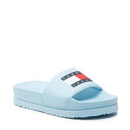 Tommy Jeans Šlepetės Tommy Jeans Flatform Pool Slide EN0EN01429 Rain Dance CYS