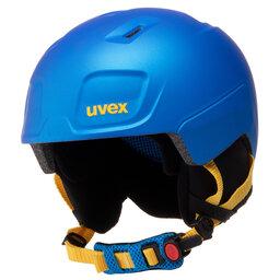 Uvex Шолом для сноуборду Uvex Heyya Pro S5662532003 Blue/Yellow Mat