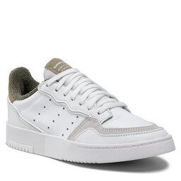 adidas Batai adidas Supercourt GW0196 Ftwwht/Ftwwht/Orbgrn