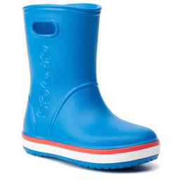 Crocs Гумові чоботи Crocs Crocband Rain Boot K 205827 Bright Cobalt/Flame