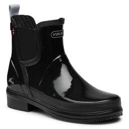 Viking Гумові чоботи Viking Gyda Glossy 1-37550-2 Black