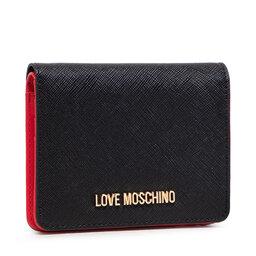 LOVE MOSCHINO Maža Moteriška Piniginė LOVE MOSCHINO JC5562PP0ALQ0000 Nero