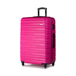 Wittchen Велика тверда валіза Wittchen 56-3A-313-34 Рожевий