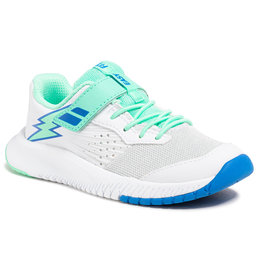 Babolat Batai Babolat Pulsion All Court Kid 32S21518 White/Biscay Green