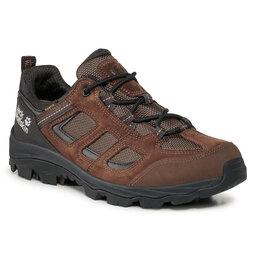 Jack Wolfskin Трекінгові черевики Jack Wolfskin Vojo 3 Texapore Low M 4042441 Brown/Phantom