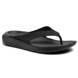 Crocs В'єтнамки Crocs Literide Flip 205182 Black/Slate Grey