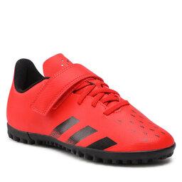 adidas Batai adidas Predator Freak .4 H&L Tf J FY6323 Red/Cblack/Red