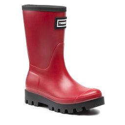 TWINSET Guminiai batai TWINSET 212TCP270 Lampone Scur 0097S