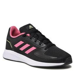 adidas Batai adidas Runfalcon 2.0 K GZ7420 Core Black/Rose Tone/Pulse Yellow