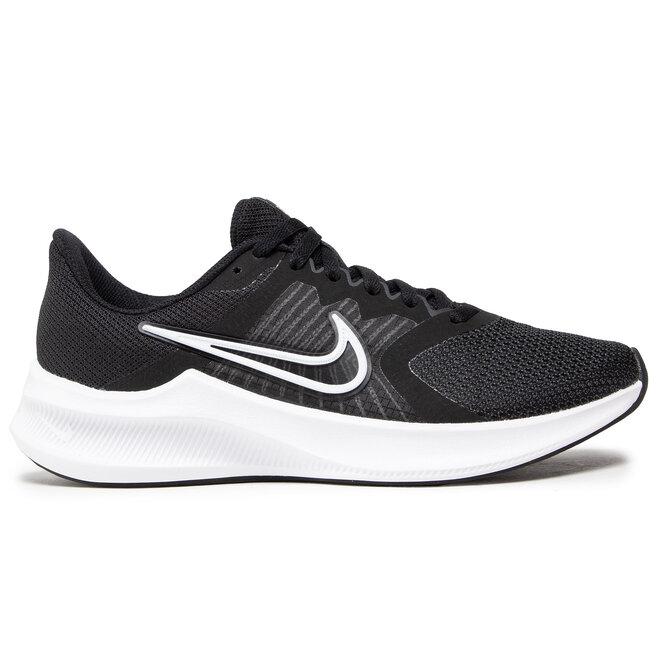 Nike Взуття Nike Downshifter 11 CW3413 006 Black/White/Dk Smoke Grey