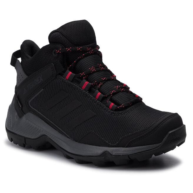 adidas Взуття adidas Terrex Eastrail Mid Gtx W GORE-TEX F36761 Carbon/Cblack/Actpnk