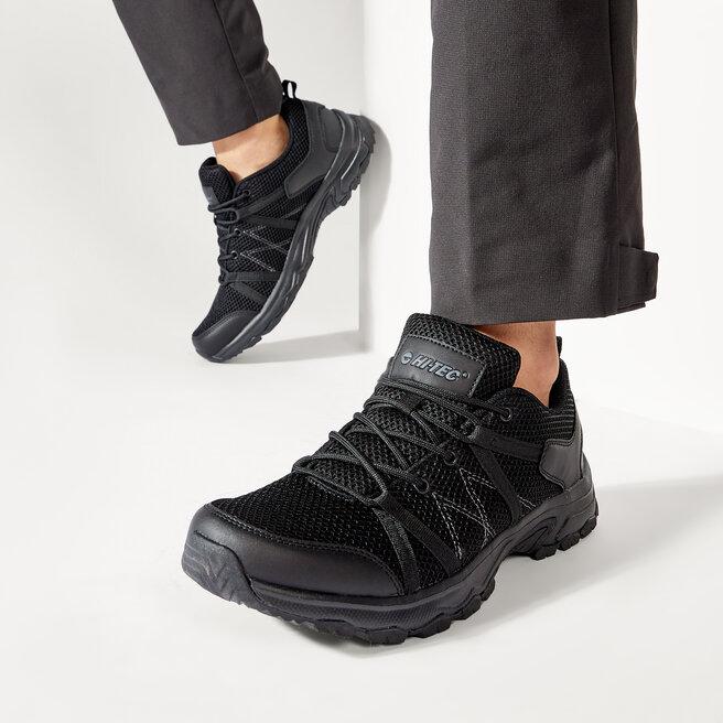 Hi-Tec Трекінгові черевики Hi-Tec Ravan AVS-SS20-HT-02-Q2 Black/Dark Grey