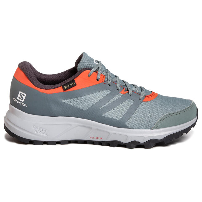 Salomon Взуття Salomon Trailster 2 Gtx GORE-TEX 409634 Lead/Stormy Weather/Cherry Tomato