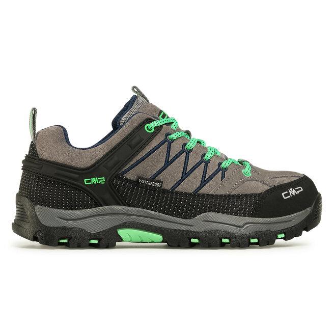 CMP Трекінгові черевики CMP Rigel Low Trekking Shoes Wp 3Q13244J Graffite/Verde Fluo 29UF