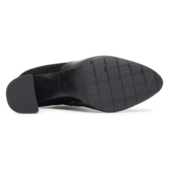 Wojas Ботильйони Wojas 55055-71 Чорний