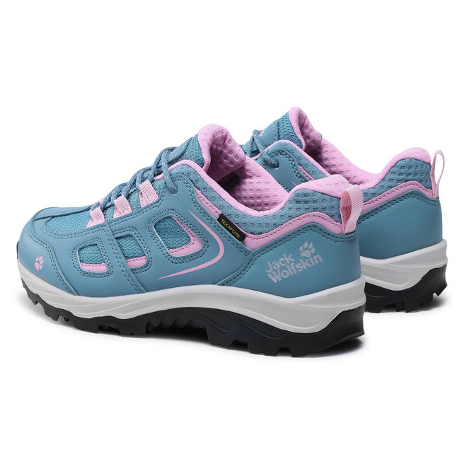 Jack Wolfskin Трекінгові черевики Jack Wolfskin Vojo Texapore Low K 4042191 Grey/Pink