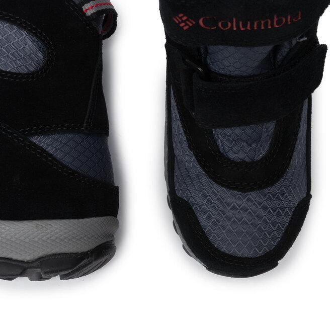 Columbia Снігоходи Columbia Childrens Parkers Peak Boot YC5409 Graphite/ Bright Red 053