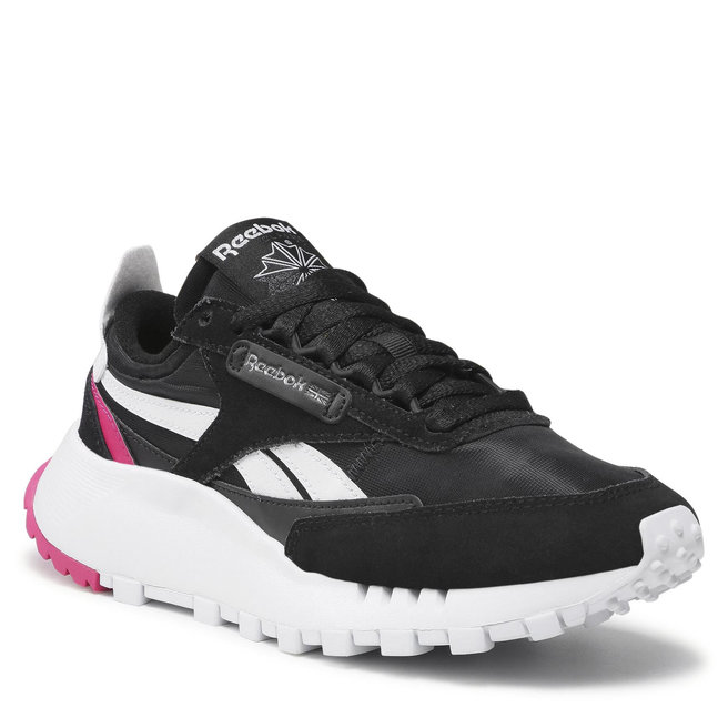Reebok Взуття Reebok Cl Legacy GZ7396 Cblack/Ftwwht/Purpnk
