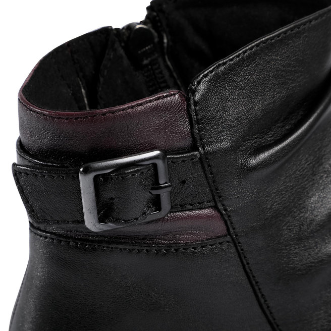 Caprice Ботильйони Caprice 9-25456-25 Black/Bordeaux 024