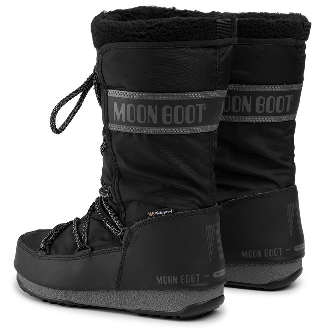 Moon Boot Снігоходи Moon Boot Monaco Wool Wp 240089001 Black