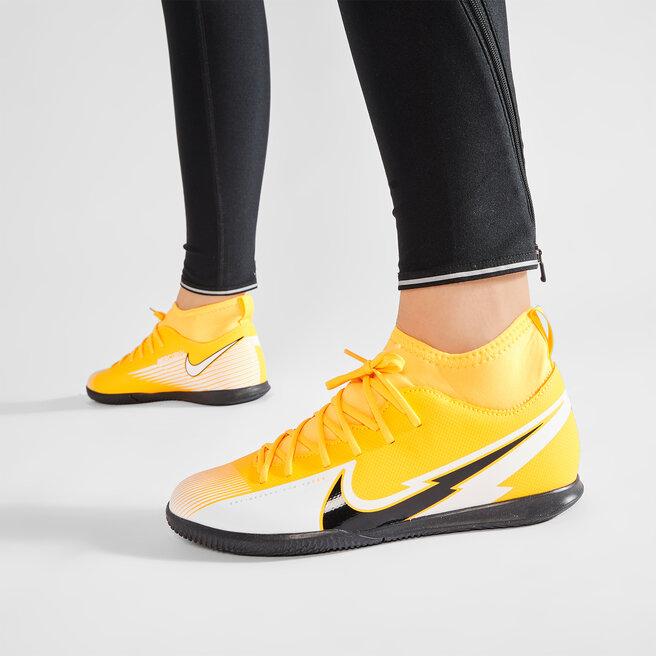 Nike Взуття Nike Jr Superfly 7 Club Ic AT8153 801 Laser Orange/black/White