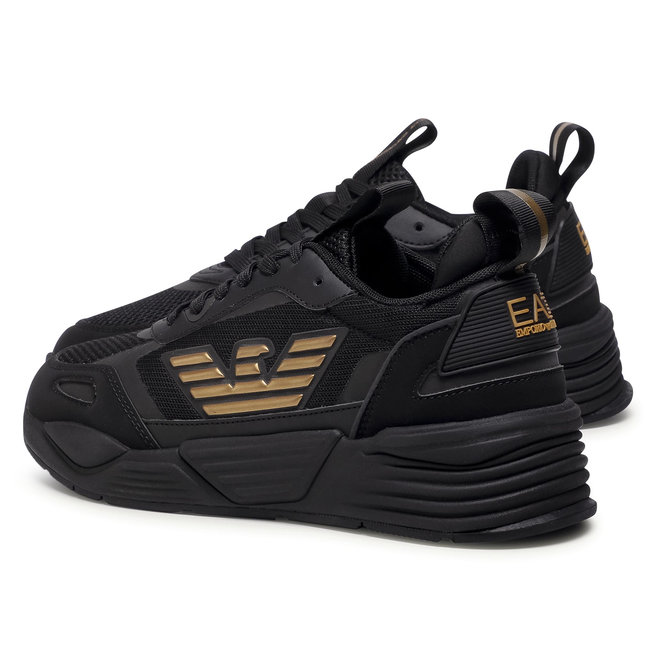 EA7 Emporio Armani Снікерcи EA7 Emporio Armani X8X070 XK165 M701 Triple Black/Gold