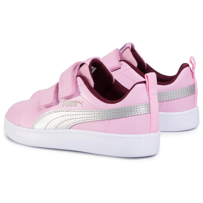 Puma Снікерcи Puma Courtflex V2 V Ps 371543 10 Pale Pink/Puma Silver